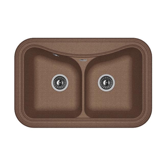 Кухонная мойка Florentina Крит-780А мокко цены