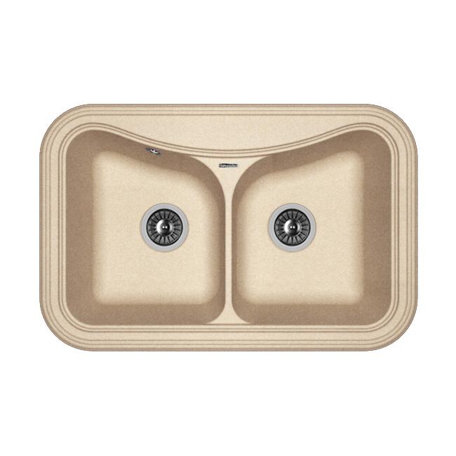 Кухонная мойка Florentina Крит-780А песочный цена