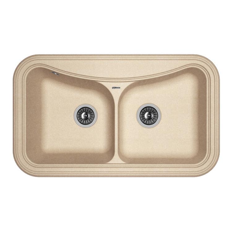 Кухонная мойка Florentina Крит-860 песочный цена