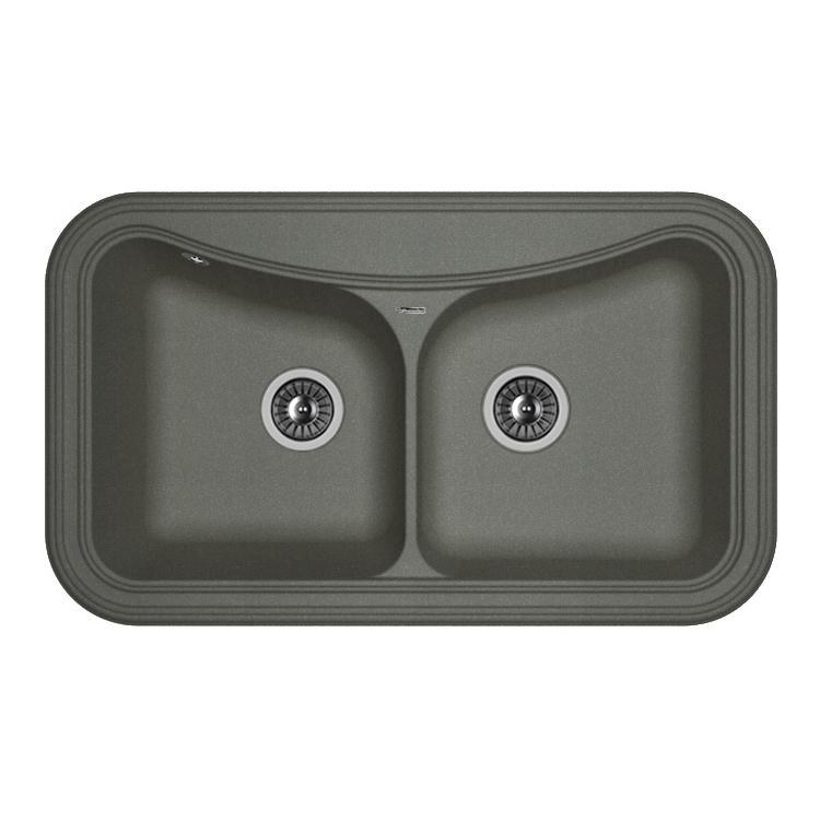 Кухонная мойка Florentina Крит-860 черный цена
