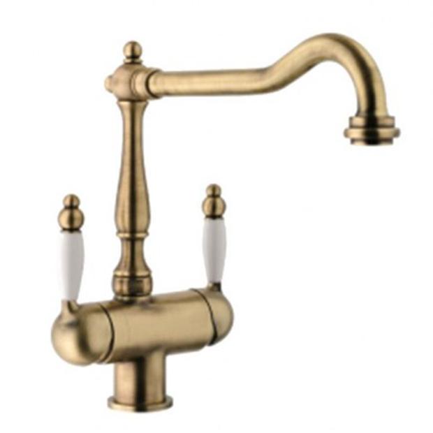 Смеситель Franke Byblos 115.0370.684 для кухни смеситель для кухни под фильтр franke old england clear water золото 115 0370 685