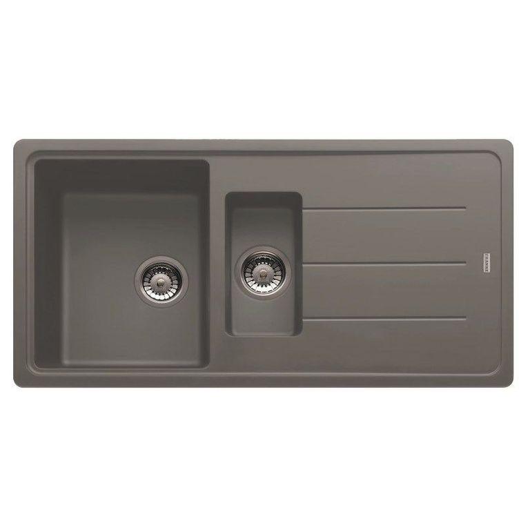 Кухонная мойка Franke Basis BFG 651-97 серый цена