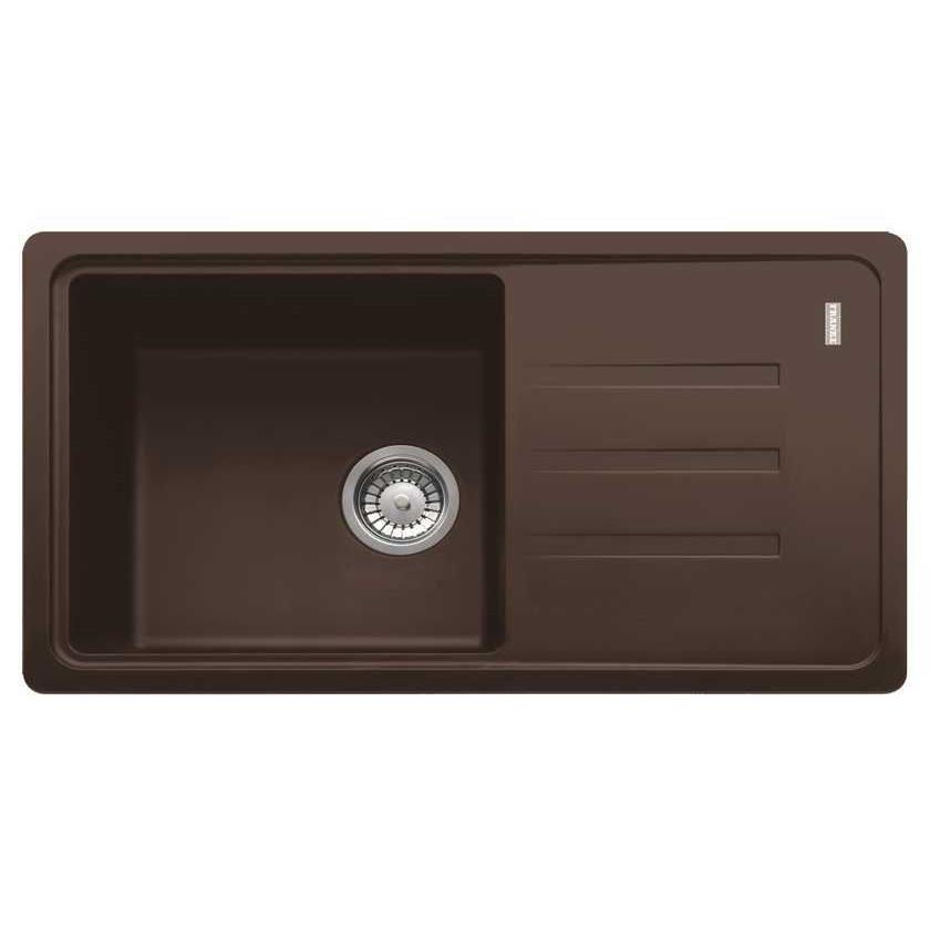 Кухонная мойка Franke Malta BSG 611-78 шоколад кухонная мойка franke bsg 611 62 шоколад 114 0391 174