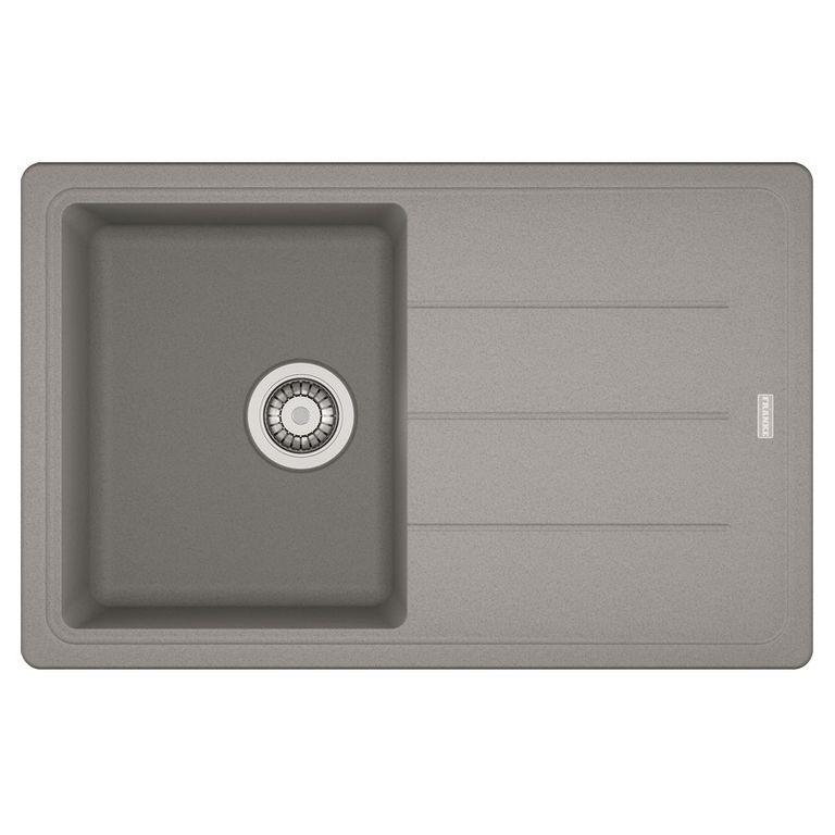 Кухонная мойка Franke Basis BFG 611 серый кухонная мойка franke bfg 611 ваниль 114 0296 630