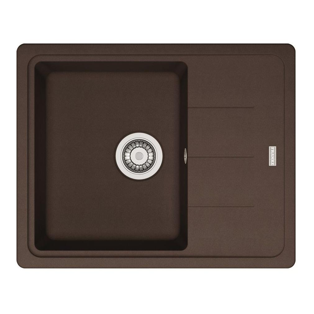 Кухонная мойка Franke Basis BFG 611C шоколад цена