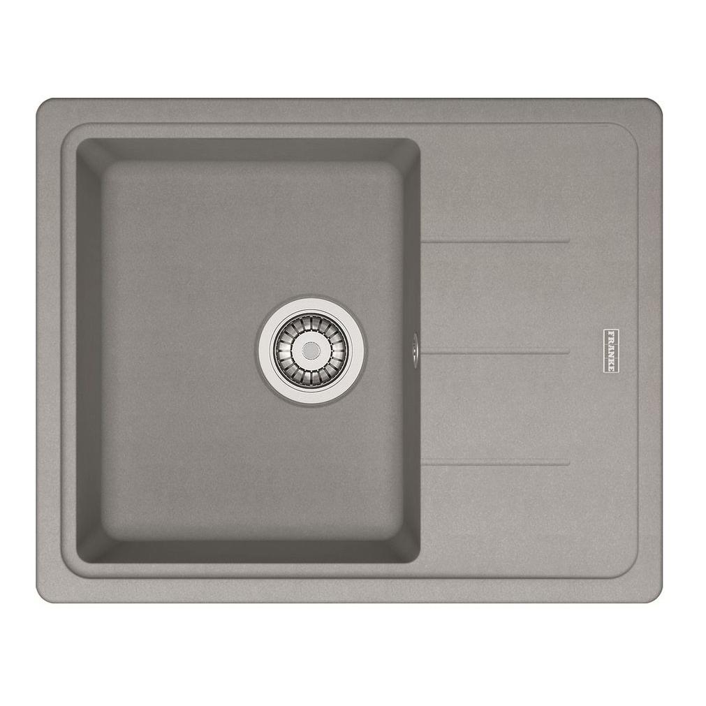 Кухонная мойка Franke Basis BFG 611C серый franke мойка кухоннаяfranke basis bfg 611c сахара