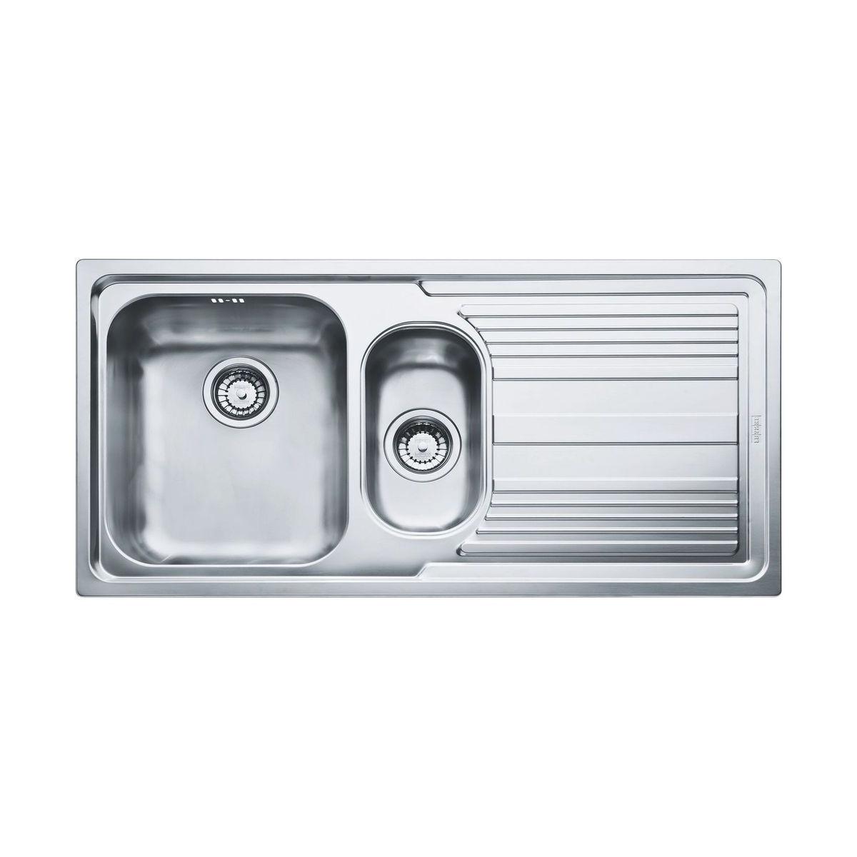 Кухонная мойка Franke Logica Line LLX 651 чаша слева полированная franke anx 211 86 нерж сталь чаша слева