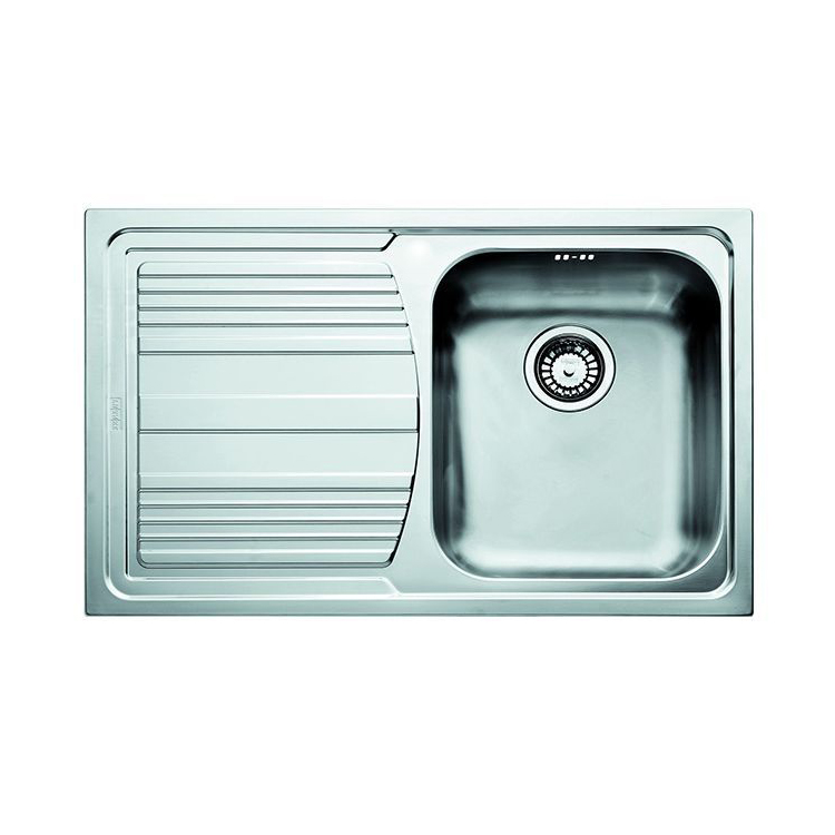 Кухонная мойка Franke Logica LLX 611 чаша справа полированная franke npx 6113 полированная сталь