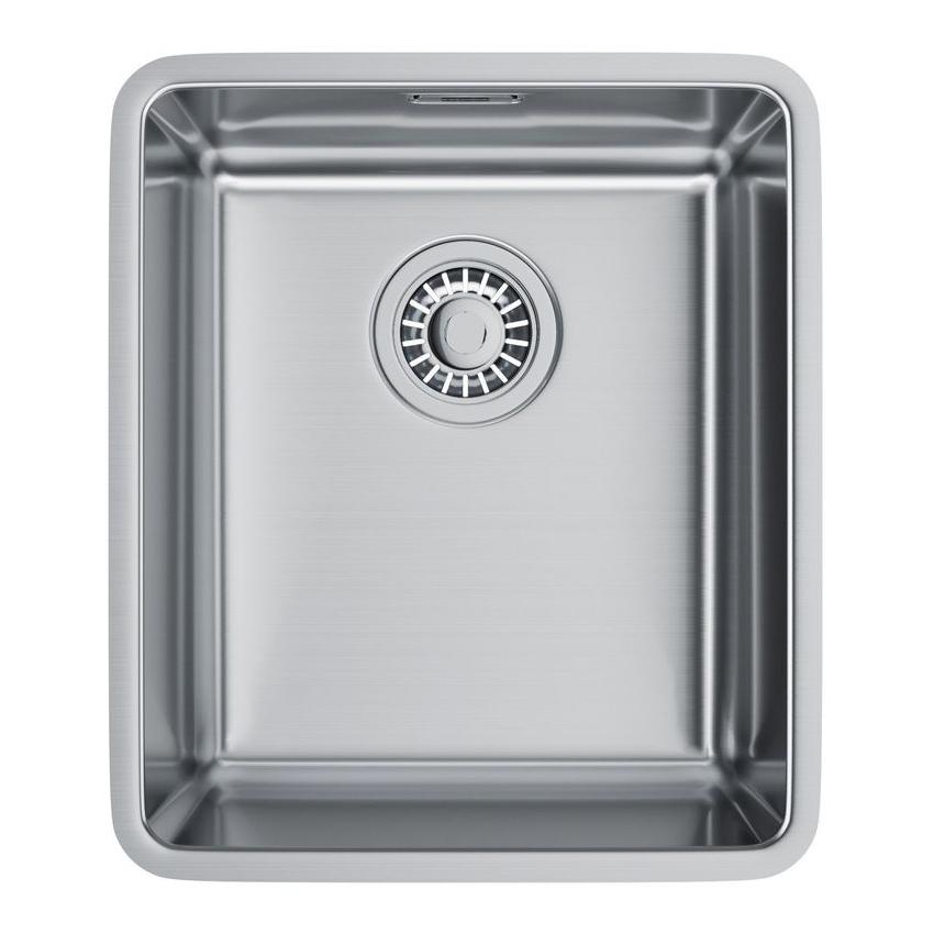 Кухонная мойка Franke Kubus KBX 110-34 полированная мойка кухонная franke kubus kbg 110 34 шоколад с клапаном автоматом 125 0176 647 125 0198 412