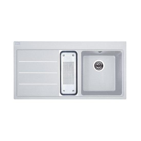 Кухонная мойка Franke Mythos Fusion MTF 651-100 правая белый кухонная мойка fabia 62274r наклад 80x50 правая