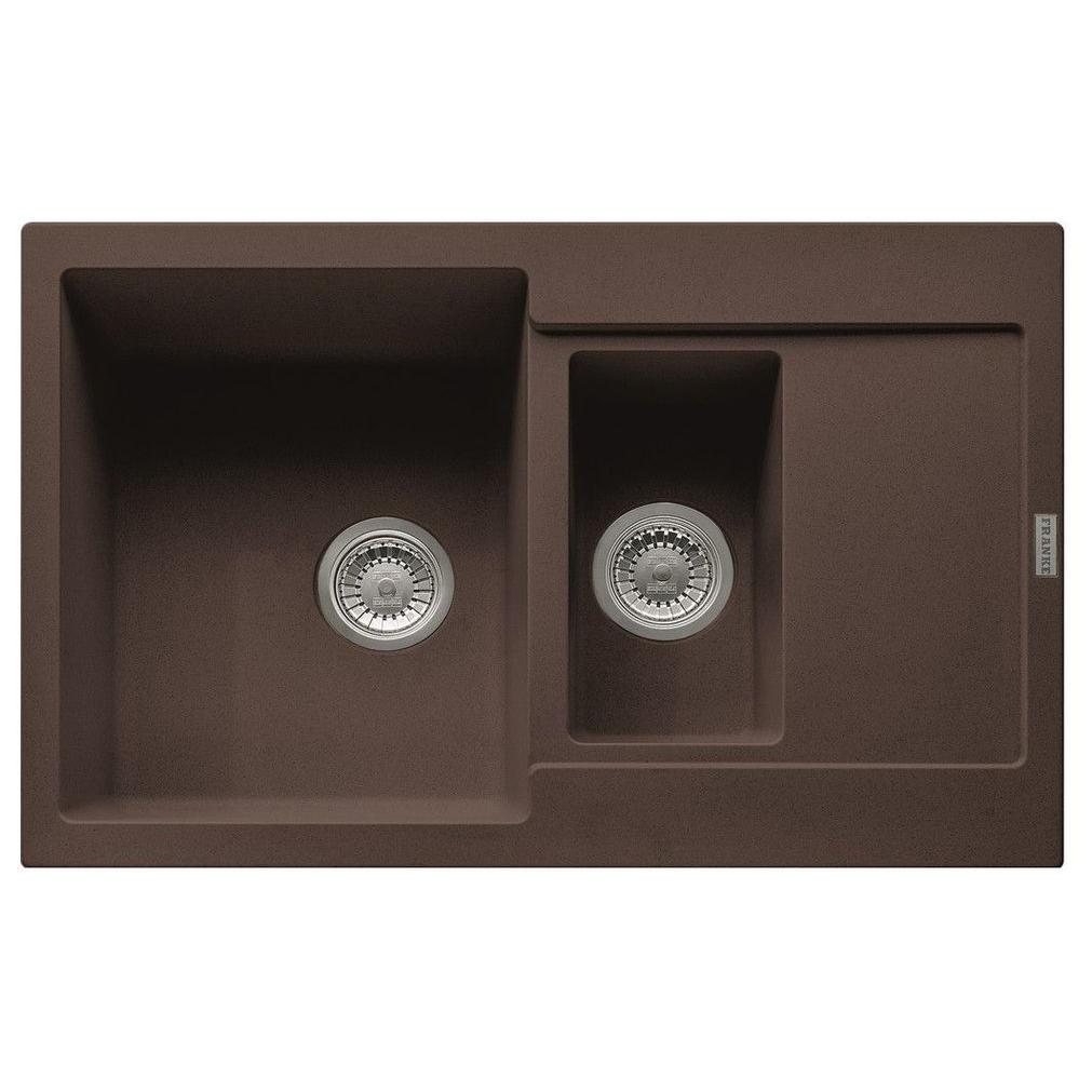 Кухонная мойка Franke Maris MRG 651-78 шоколад кухонная мойка franke mrg 651 78 оникс 114 0198 272
