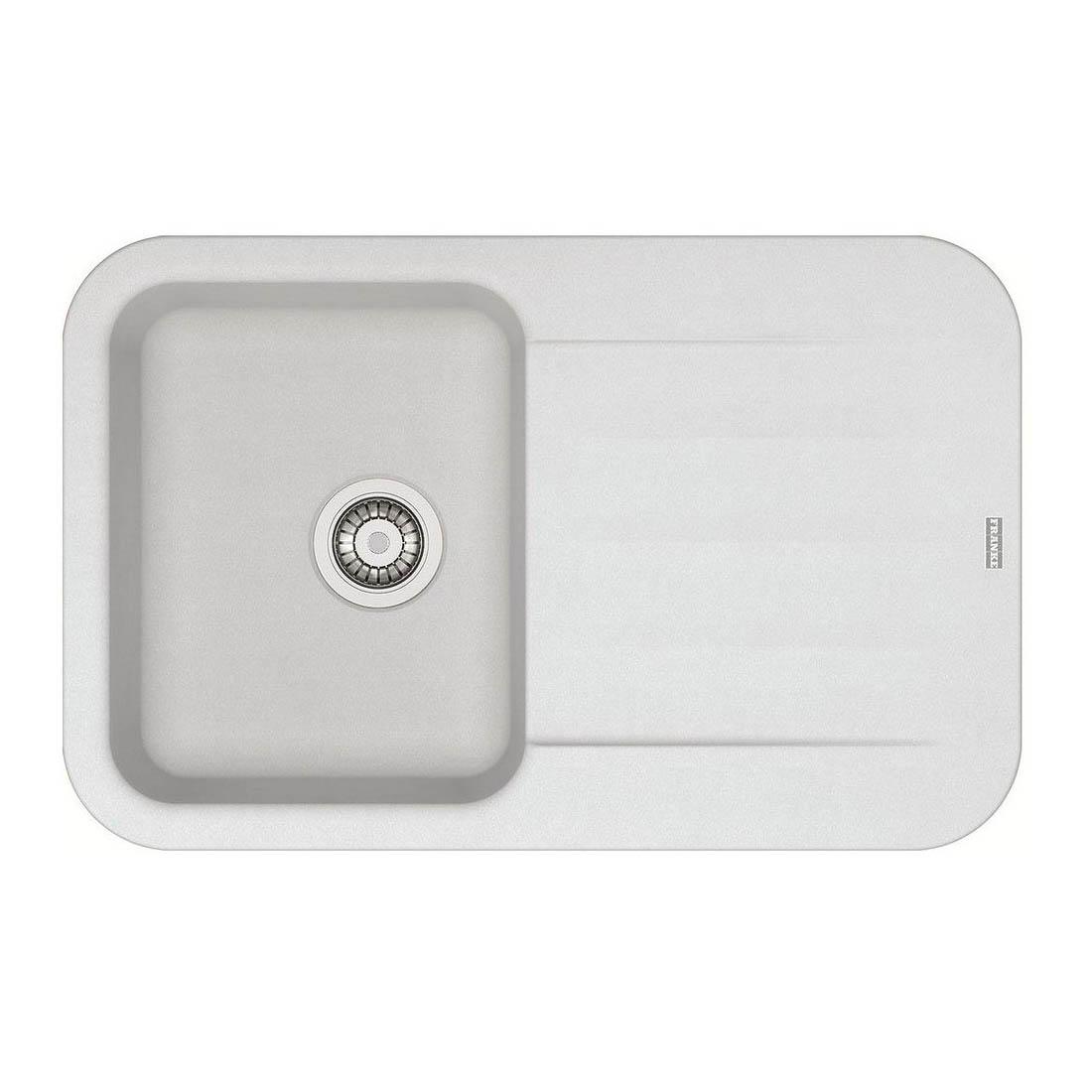 Кухонная мойка Franke Pebel PBG 611-78 белый franke pbg 611 78 114 0284 532