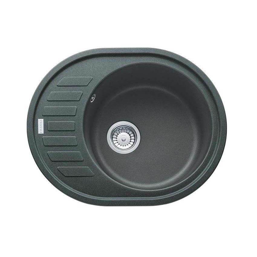 Фото - Кухонная мойка Franke Ronda ROG 611С графит мойка кухонная franke rog 611 3 1 2 графит 114 0157 900