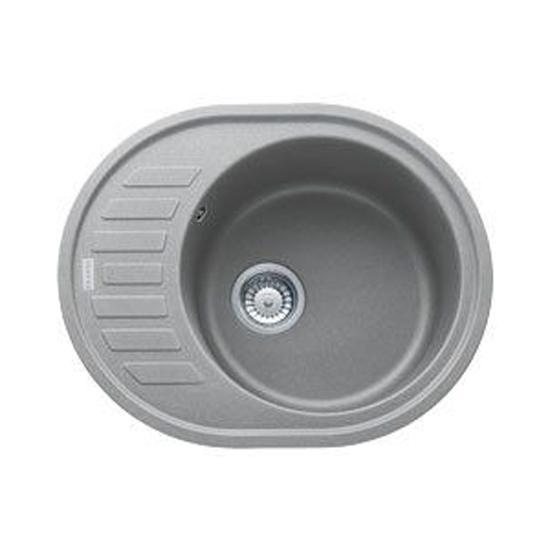 Кухонная мойка Franke Ronda ROG 611С серый мойка кухонная franke ronda rog 611 сахара 114 0157 904