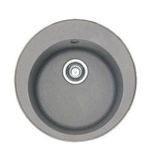 Кухонная мойка Franke Ronda ROG 610-41 серый мойка кухонная franke rog 610 41 оникс вент 114 0263 253
