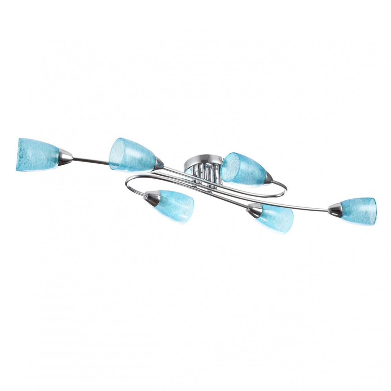 Люстра Freya Flash FR5104-CL-06-BL потолочная freya потолочная люстра freya flash fr5103 cl 06 bl