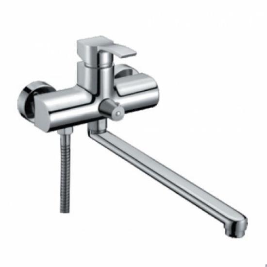 Смеситель Gappo Mossow G2208 для ванны смеситель для ванны коллекция mossow g2208 однорычажный хром gappo гаппо