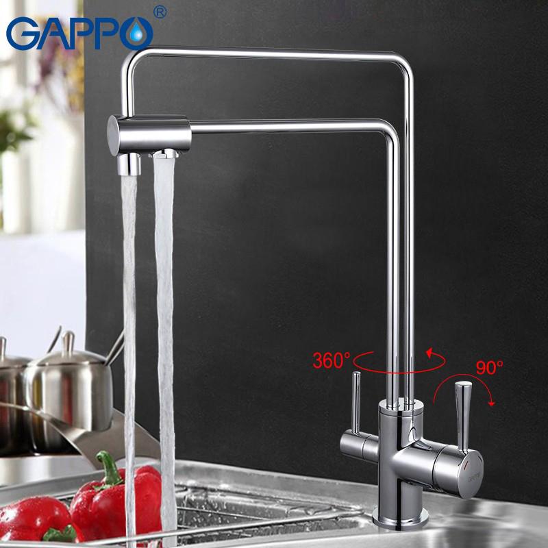 Смеситель Gappo G4398-5 для кухни смеситель swes astra д кухни буксовый 2akac2 0308