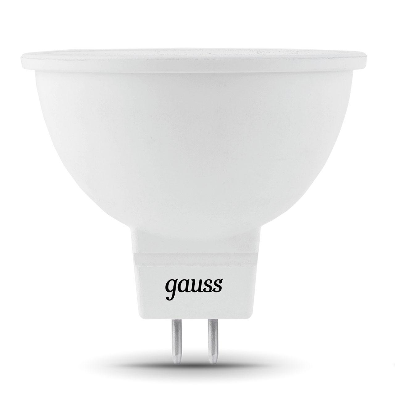 Лампа светодиодная GU5,3 7W 2700K матовая 101505107 лампа светодиодная gauss none gu5 3 7вт 220в 2700 k 101505107