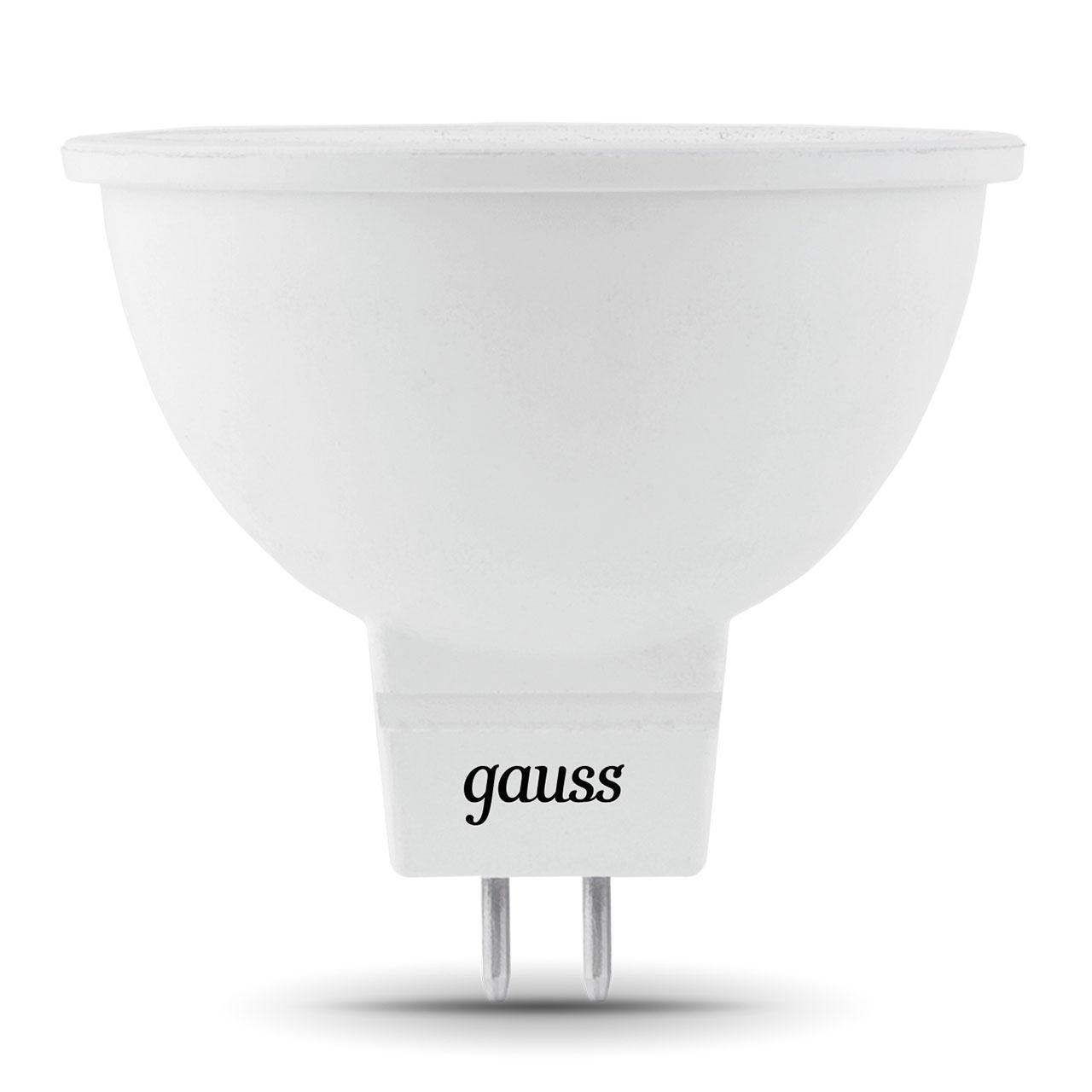 Лампа светодиодная GU5.3 5W 4100K матовая 201505205 goodeck лампа светодиодная goodeck рефлекторная матовая gu10 5 5w 4100k gl1007024206