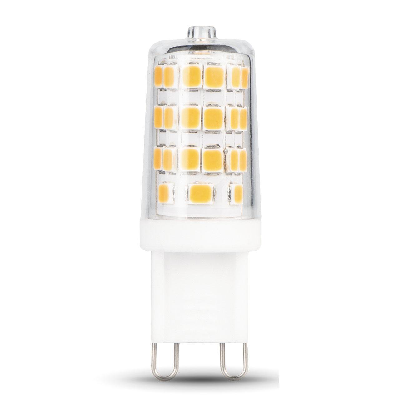Лампа светодиодная диммируемая G9 3W 4100K прозрачная 107309203