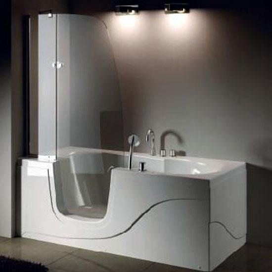 Акриловая ванна Gemy G9246 B L акриловая ванна ifo rattvik ba20150100 l