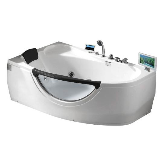 Акриловая ванна Gemy G9046 O L акриловая ванна gemy g9046 ii b l