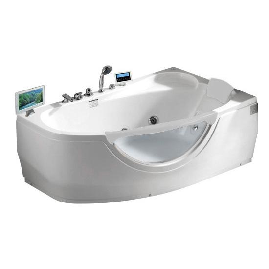 Акриловая ванна Gemy G9046 O R акриловая ванна gemy g9046 ii b l