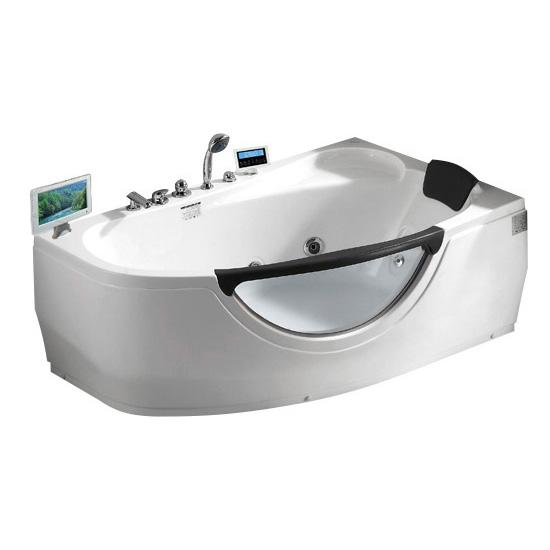 Акриловая ванна Gemy G9046 II O R акриловая ванна gemy g9046 ii b l