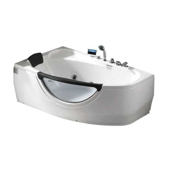 Акриловая ванна Gemy G9046 K L акриловая ванна gemy g9046 ii b l