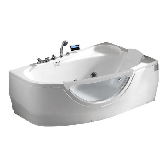 Акриловая ванна Gemy G9046 K R акриловая ванна gemy g9046 ii b l