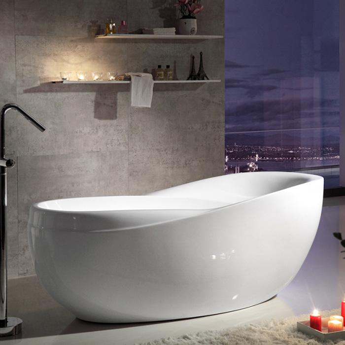 Акриловая ванна Gemy G9232 акриловая ванна eurolux сиракузы 150x70x50