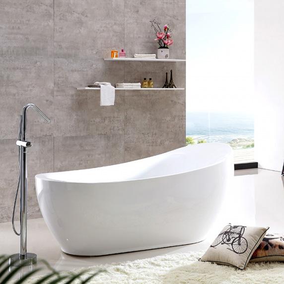 Акриловая ванна Gemy G9235 ванна акриловая jika floreana 150х75