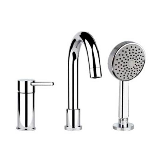 Смеситель Gessi Ozone 13837.031 для ванны смеситель на борт ванны фэма стиль artistica на четыре отверстия