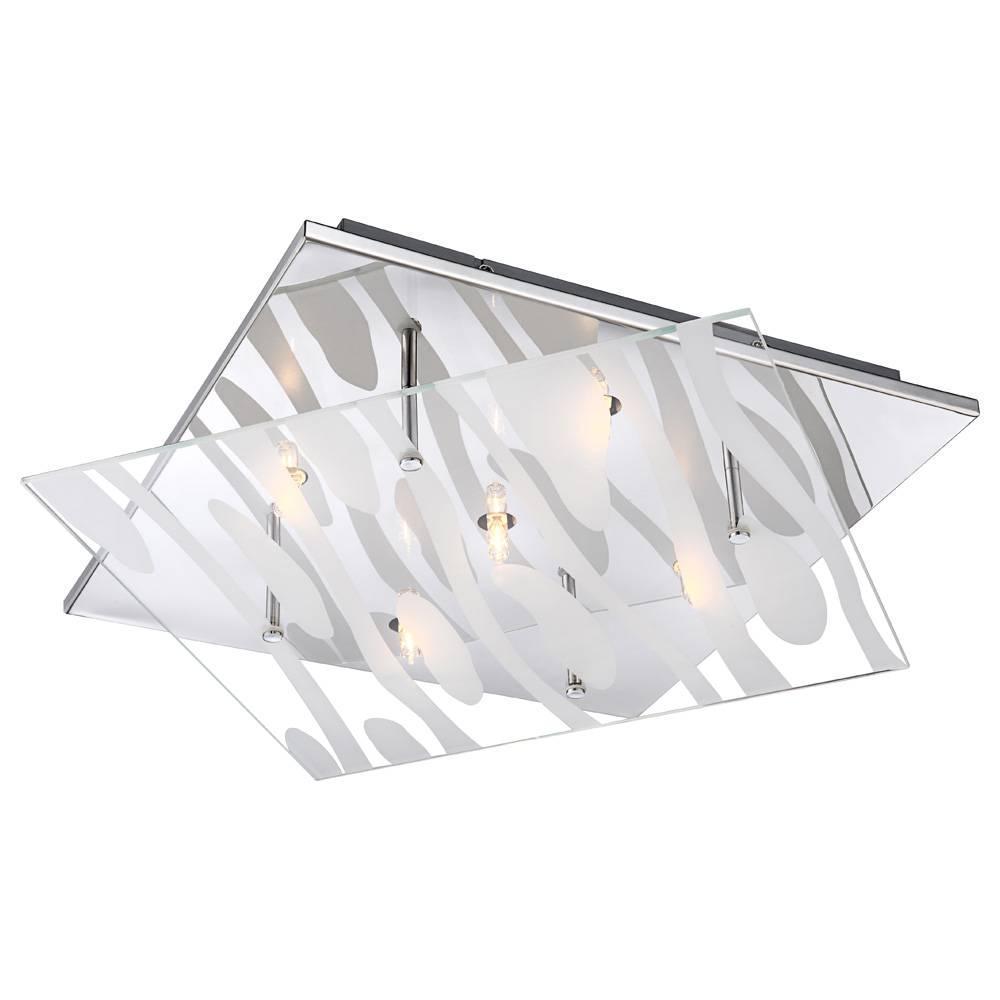 Фото - Потолочный светильник Globo Carat 48694-5 накладной светильник globo carat 48694 1