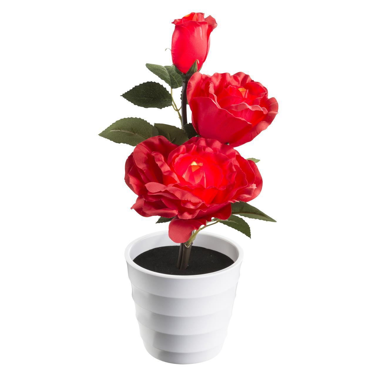 Настольная лампа декоративная Роза тройная Globo Orphelia 28026 globo настольная лампа globo orphelia 28024 page 8
