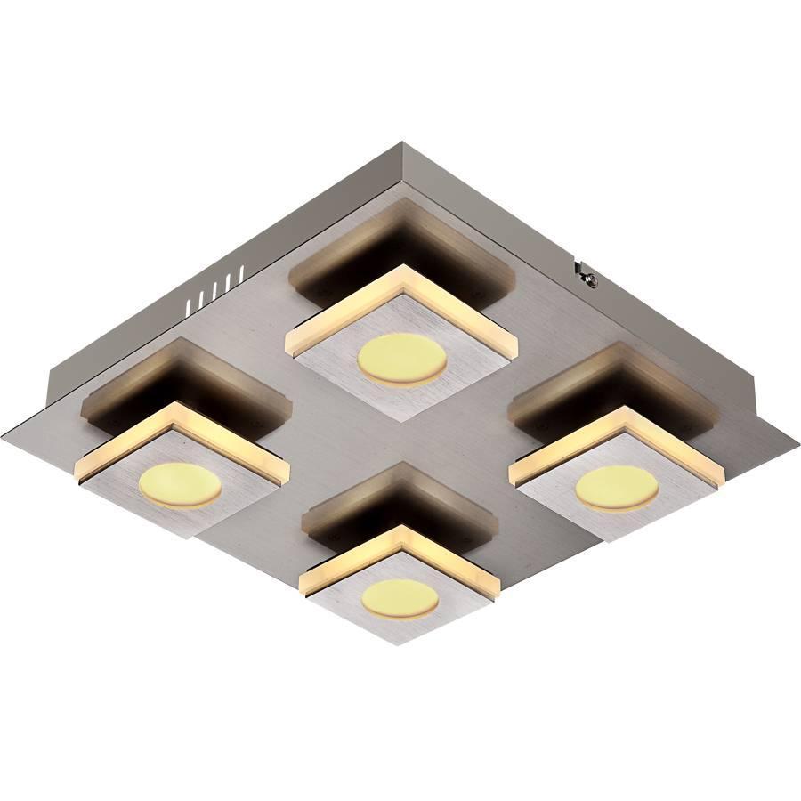 Потолочный светодиодный светильник Globo Cayman 49208-4 светильник потолочный globo light 49239 4