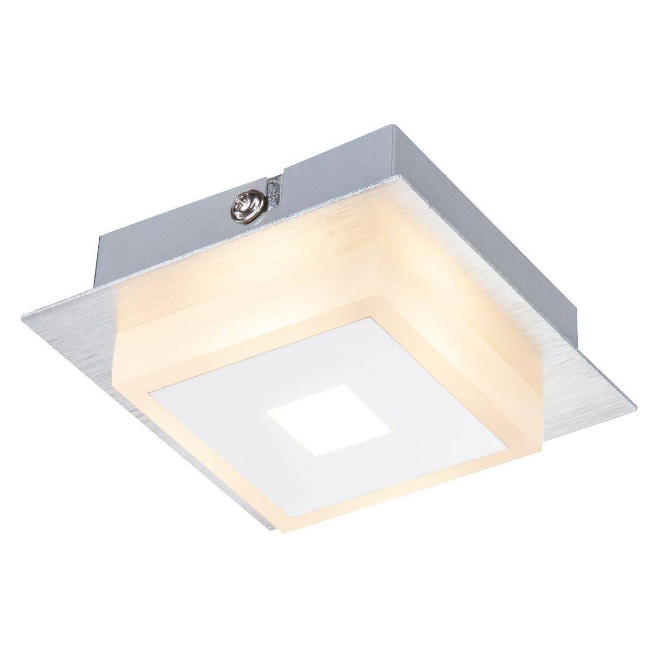 Потолочный светодиодный светильник Globo Quadralla 41111-1 потолочный светодиодный светильник globo mathilda 68397 12