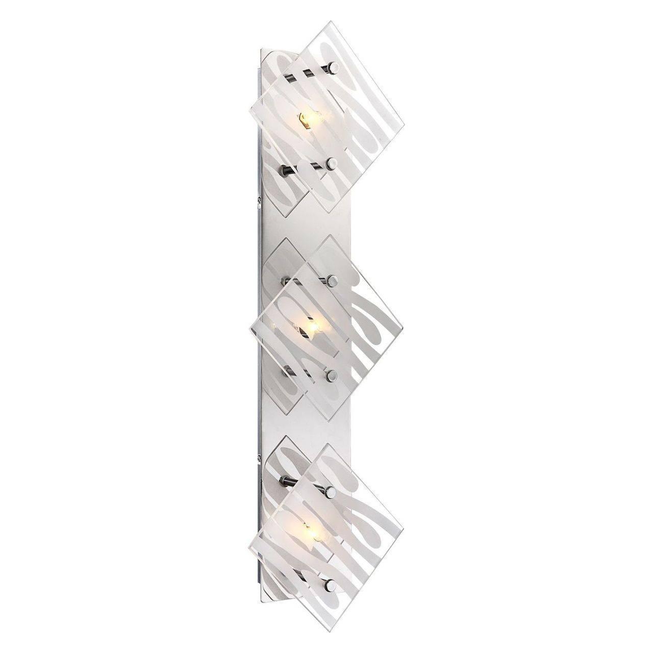 Фото - Настенный светодиодный светильник Globo Carat 48694-3 накладной светильник globo carat 48694 1