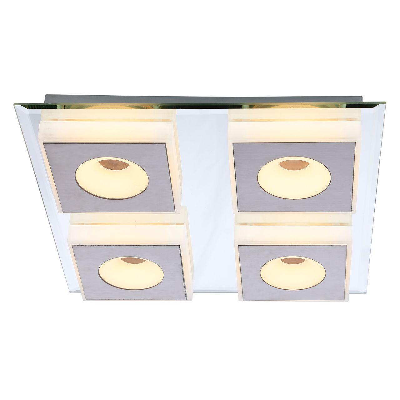 Потолочный светодиодный светильник Globo Bioko 41113-4 светильник потолочный globo light 49239 4