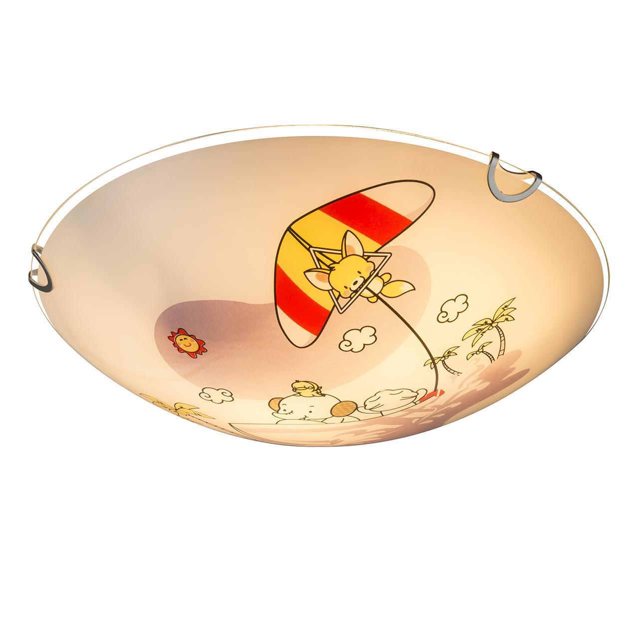 Настенно-потолочный светильник Globo Kiddy 40608 светильник настенно потолочный globo splash 57887 1