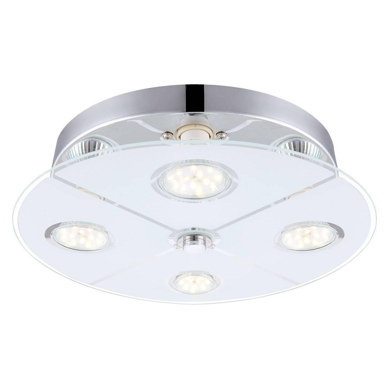 Потолочный светодиодный светильник Globo Rene 48964-4 светильник потолочный globo light 49239 4