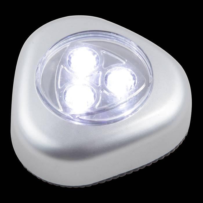 Ручной светодиодный фонарь Globo от батареек 65х26 20 лм 31909 ручной светодиодный фонарь uniel 03248 от батареек 30 лм s ld014 c silver