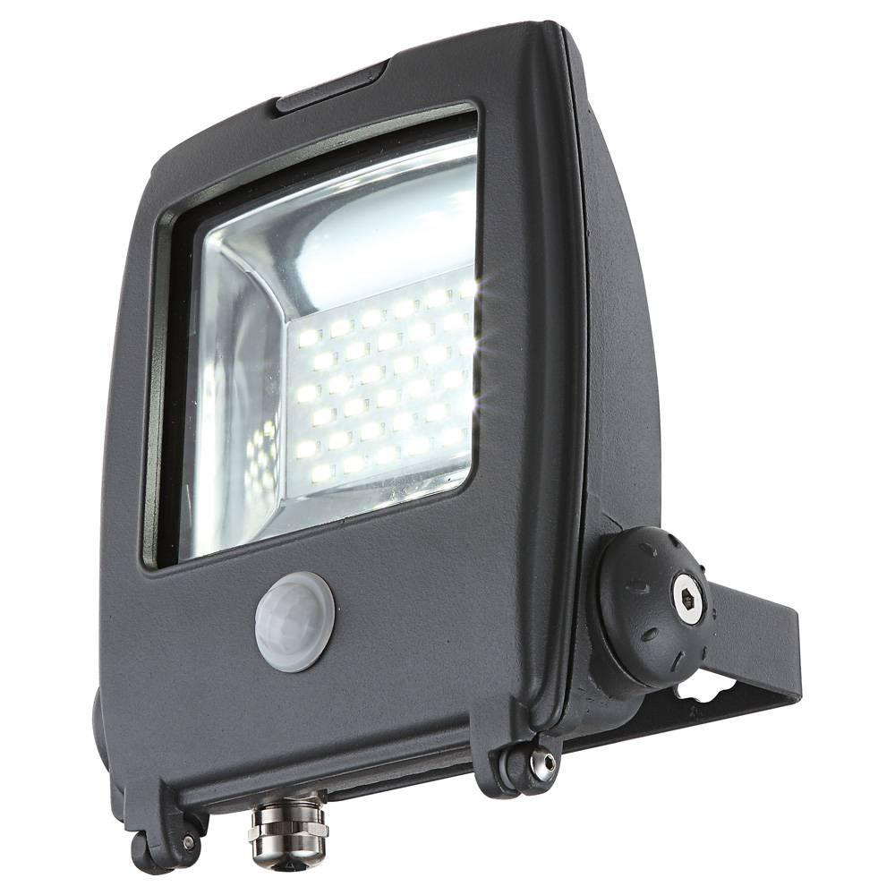 Прожектор светодиодный с датчиком движения Globo Projecteur I 34219S светильник уличный с датчиком движения globo projecteur 34117s