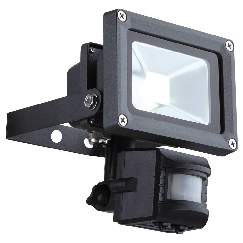 Прожектор светодиодный с датчиком движения Globo Projecteur 34114S светильник уличный с датчиком движения globo projecteur 34117s