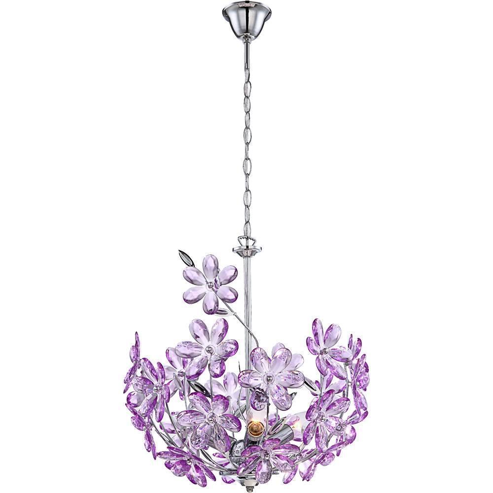 Люстра Globo Purple 5141 подвесная светильник подвесной globo purple 5141