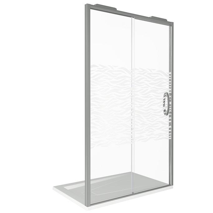 Душевая дверь Good Door Antares WTW-130-W-CH