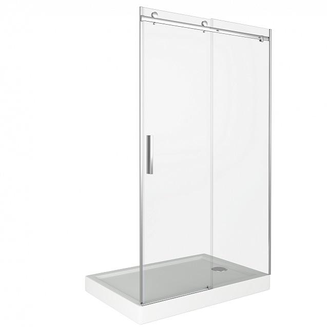 Душевая дверь Good Door Altair WTW-140-C-CH modern simple fashion mechanical mute split interior door locks black bedroom kitchen bookroom solid wooden door handle locks