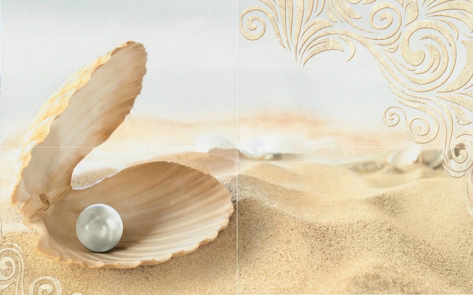 Amalfi sand 02 Панно 50x80 (панно из 4-х шт) панно ape ceramica adorable decor set 2 romeo sand 40x60 комплект