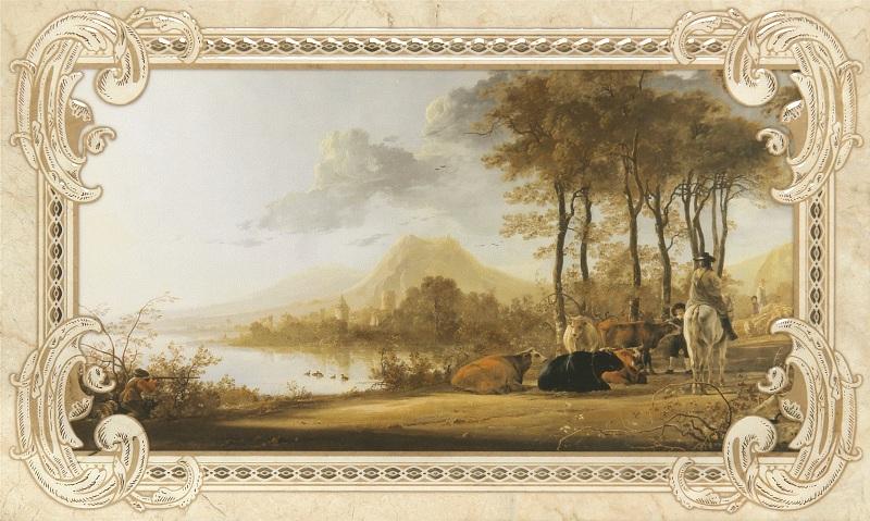 Rotterdam beige decor 01 300х500 мм - 6 шт. gracia ceramica glory beige 01 6 5x60